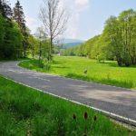 Straße nach Hilgershausen