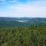 Blick vom Kellerwaldturm