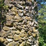 Mauerreste der Schauenburg