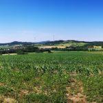 Panorama am Weg nach Elmshagen