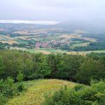 Blick vom Turm Richtung Kammerbach