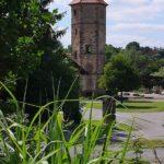 Treppenturm des ehemaligen Wasserschlosses Übelngönne