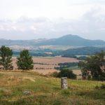 Blick v. Hasunger Berg zum Dörnberg