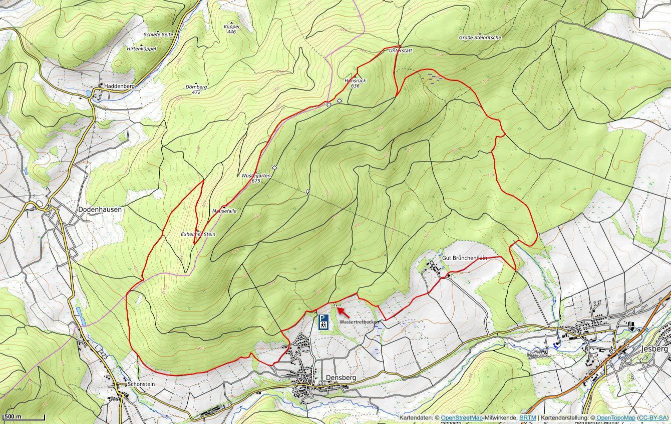 Wetterradar Nordhessen
