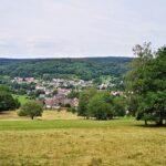 Blick vom Hirschberg auf Wickenrode