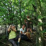 Pause im Busch